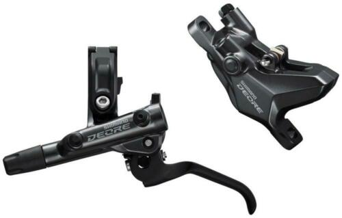 Shimano Deore BL-M6100//BR-M6100 Disc Brake and Lever Front Hydraulic Resin Pads