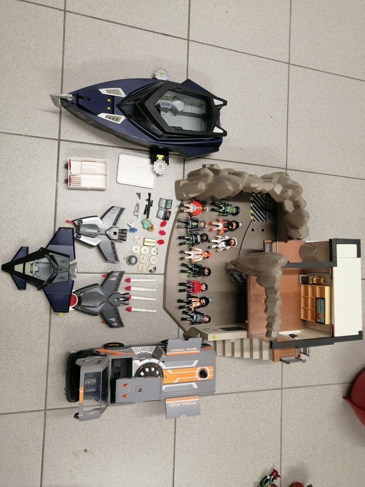 Playmobil Spy Agents Combi-Sets alles was sie auf den Fotos sehen, wird verkauft