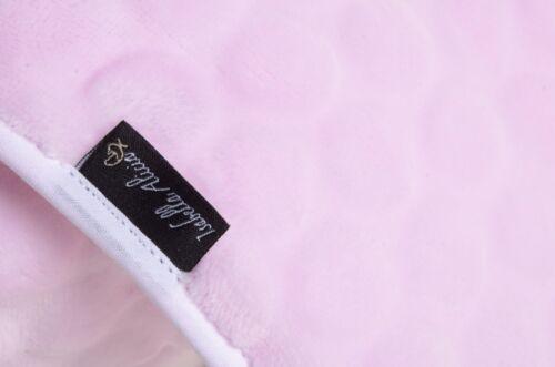 Moses Basket Pink Bubble Bedding Cuddlesoft Marshmallow Isabella Alicia Uk Made