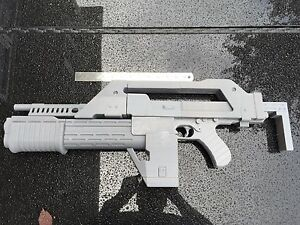 Details about Aliens Pulse Rifle 3d Printed LIFE SIZE SCALE M41A PULSE  RIFLE MOVIE PROP