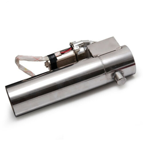 "3.0/"" Exhaust Pipe Electric I Pipe Electrical Cutout with Remote Control Valve"