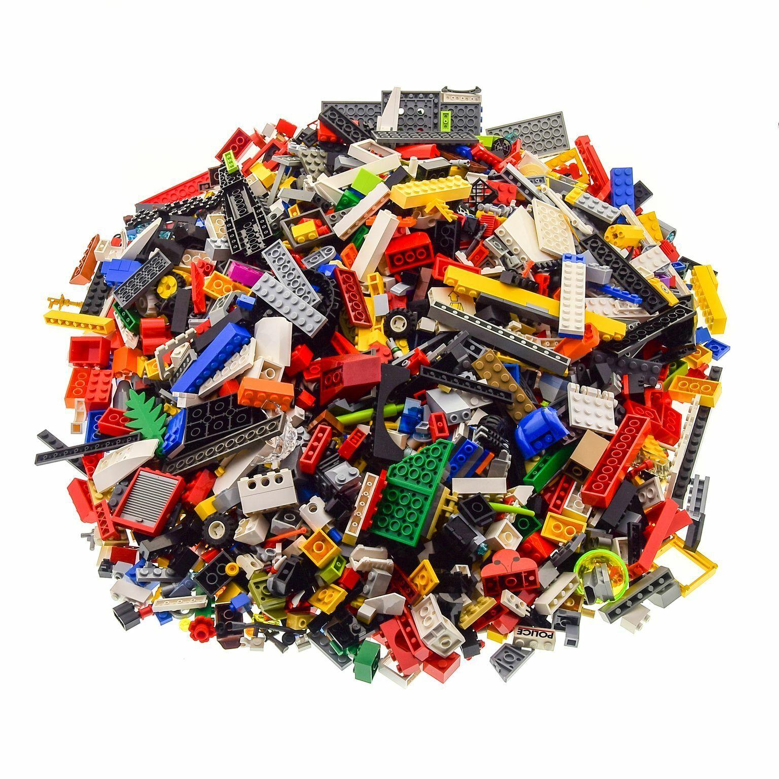3 KG LEGO Système construction construction construction PIERRES kiloware un Tutti Frutti par exemple voiture pièces plaque Roues 1c8f93