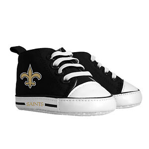 ae3023eb5fc0 Image is loading New-Orleans-Saints-Baby-Shoes-NFL-Pre-Walker-