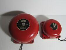 2 Simplex Alarm Bells Gardner Mass Color Red Used