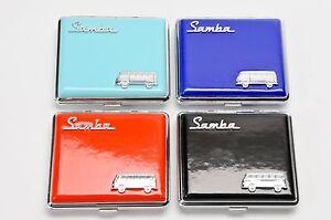 Auto & Motorrad: Teile Qualifiziert Vw Samba Zigaretten Etu In Geschenkbox Edel Volkswagen T1 T2 T3 Bulli Blau Um Eine Reibungslose üBertragung Zu GewäHrleisten Automobilia