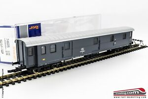 ROCO-74605-H0-1-87-Carrozza-bagagliaio-postale-FS-Uz-Grigio-ardesia-Ep-IV