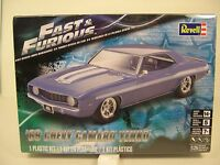 Revell Fast And Furious 1969 Yenko Camaro 1:25 Scale Plastic Model Car Kit