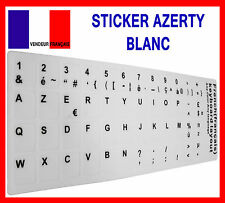 Ensemble Autocollant BLANC pour Conversion de Clavier QWERTY en AZERTY Français