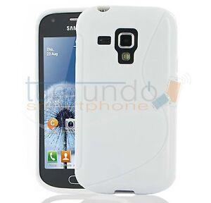 Cover-in-Gel-TPU-Bianco-per-Samsung-Galaxy-Trend-S7560-Custodia-in-Spagna