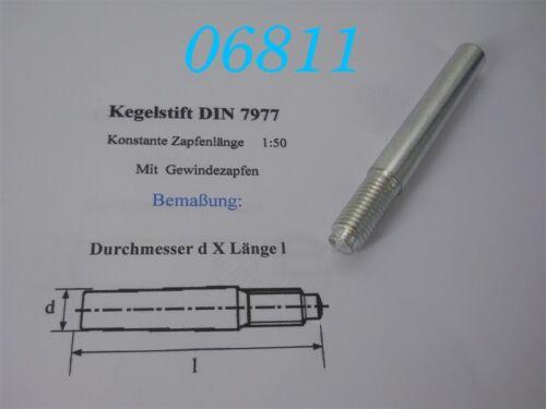 DIN 7977 KEGELSTIFT 12 x 100 mm