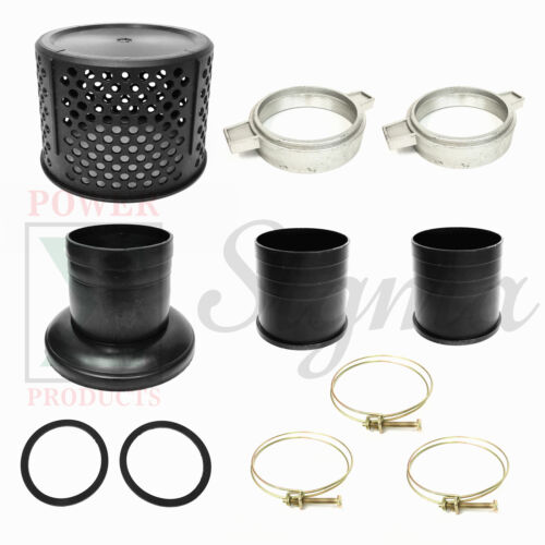 9PCS Shank Strainer Basket Clamp For 4 Inch 100MM Honda Chinese Gas Water Pump