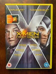 X-Men-First-Class-DVD-2011-Marvel-Universe-Superhero-Film-Movie