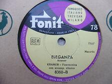 Kramer con fisarmonica - La virtuosità / Eleganza - 78 giri
