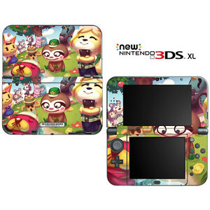 Animal crossing new leaf for new nintendo 3ds xl skin for Animal crossing mural