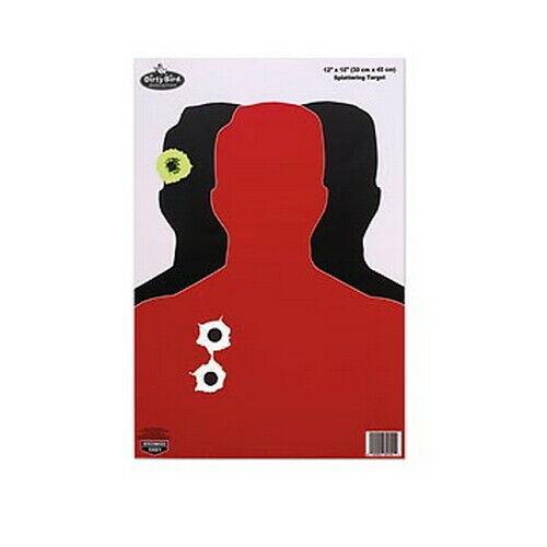 8 Sheet Pack Birchwood Casey Dirty Bird Hostage 12 x 18-Inch Target