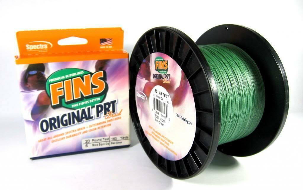 [Sale] Fins PRT Braided Spectra line 120lb 1200yds verde  0227