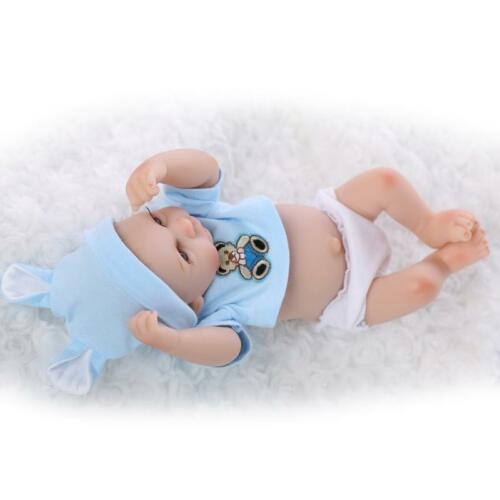Handmade Real Looking Newborn Baby Vinyl Silicone Realistic Reborn Dolls Hot