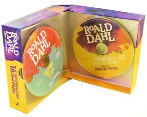 Roald-Dahl-Phizz-Whizzing-16-Audio-CD-Children-Collection-Box-Set-By-Roald-Dahl