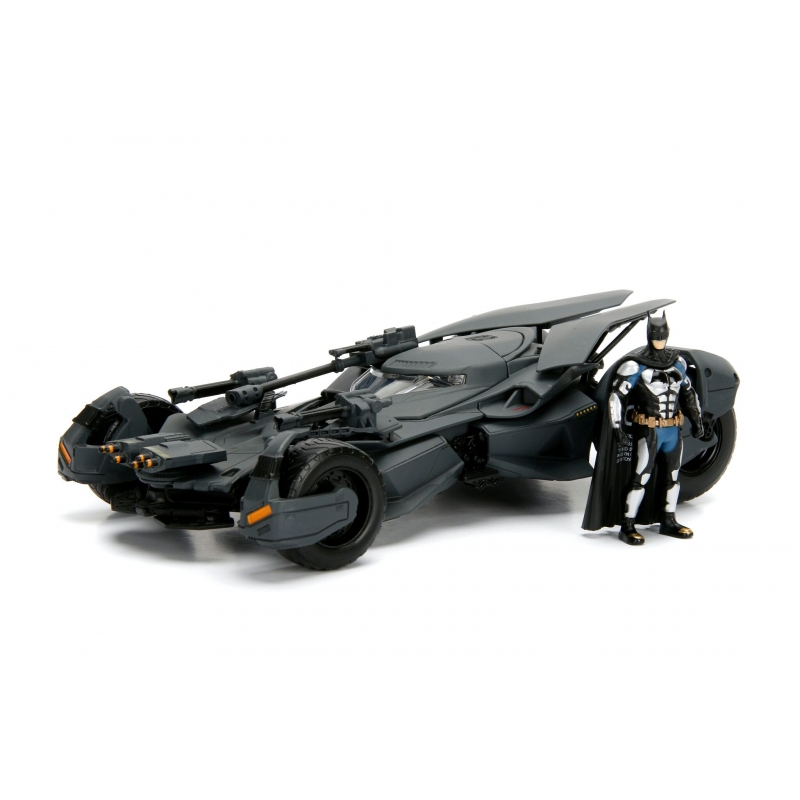 Batman Justice League Batmobile und Batman 1:24 Maßstab Jada