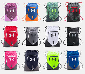 Image is loading Under-Armour -Undeniable-Sackpack-UA-Drawstring-Backpack-Sack-
