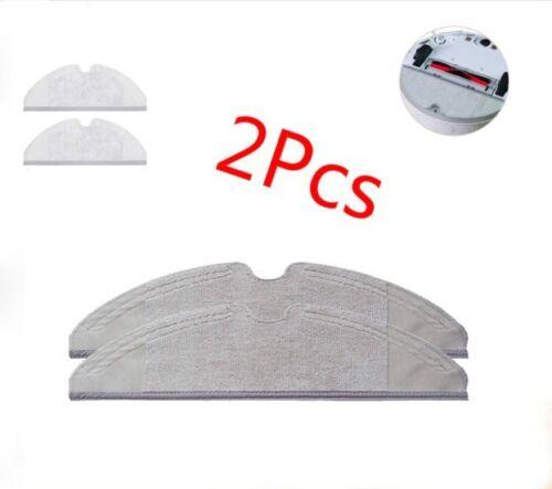 2pcs Microfibre Mop Cloths Pads for Xiaomi Robot Roborock S50 S51 Washable