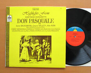 S-7404-Donizetti-Don-Pasquale-Highlights-Bruscantini-Everest-Stereo-NEAR-MINT