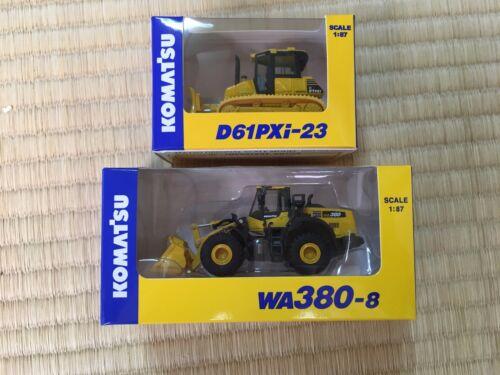 8 23 Japon Miniature Benne 2 Komatsu Basculante Set Wa380 D61pxi Nouveau 87 Camion 1 À HSq74UWwX