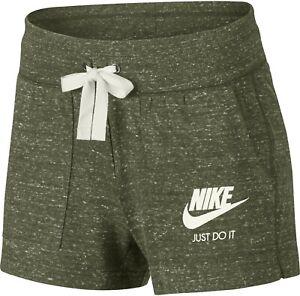 Détails sur BNWT Nike * Sportswear Gym Vintage Short UK taille L en Kaki RRP £ 29.90 afficher le titre d'origine