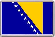 BOSNIA AND HERZEGOVINA FLAG FRIDGE MAGNET IMAN NEVERA