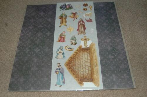 Creative Memories 12x12 Classic Nativity Additions Kit