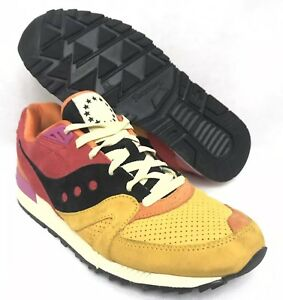 4bc6c6d5fa48 UBIQ X Saucony Shadow Master Pacific Dusk Red Orange Black Rare ...