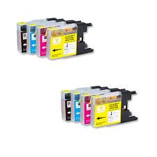 8 PK NEW Ink Cartridges for Series LC71 LC75 Brother MFC J280W J425W J430W J435W