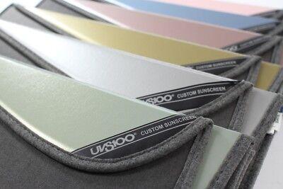 1 Pack Covercraft UV11210GN Green Ice UVS 100 Custom Fit Sunscreen for Select Infiniti//Nissan Models Laminate Material