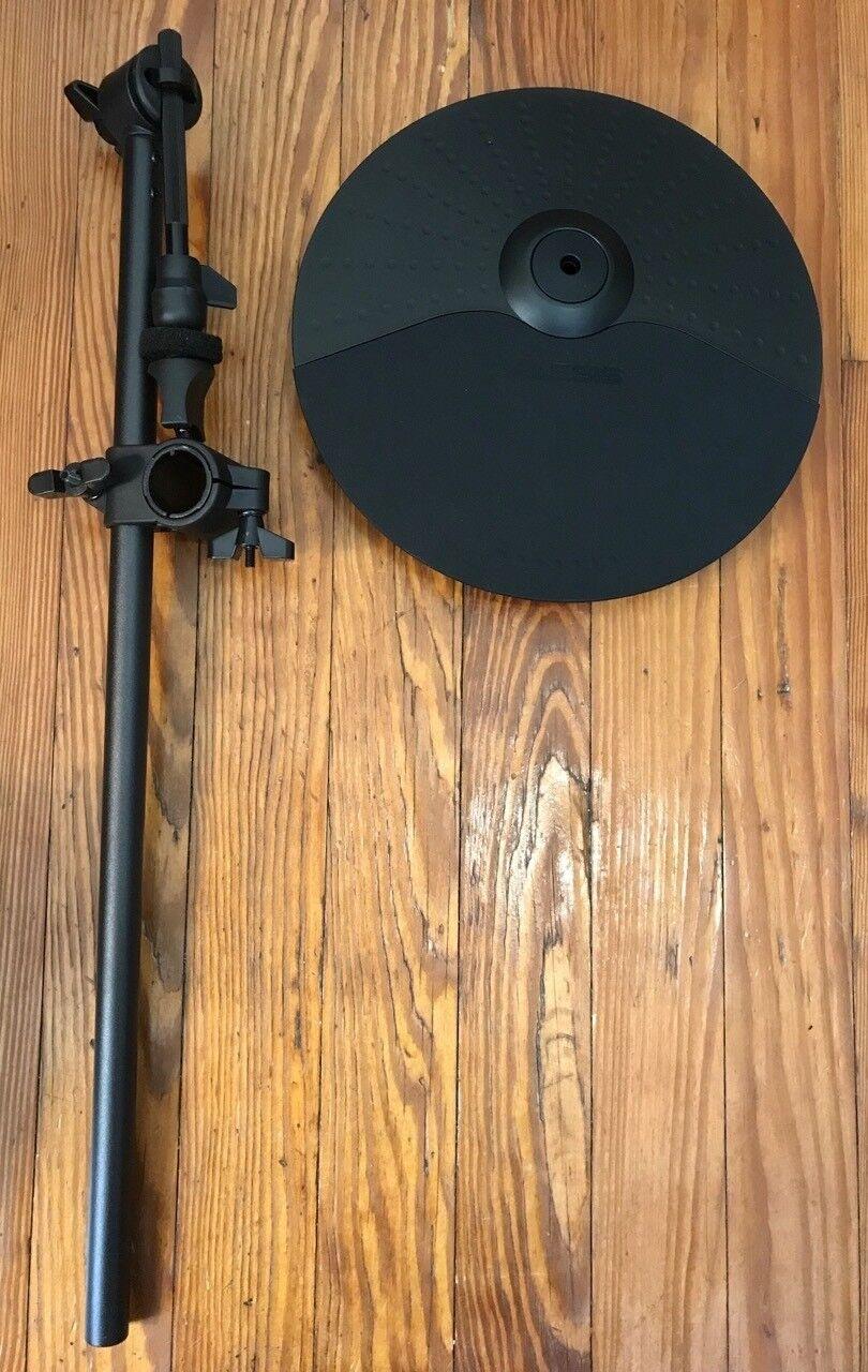 """NEW Alesis 10  Cymbal w 21  Arm & Clamp (1 1 8"""") Ride Hi-Hat Single Zone Nitro"""