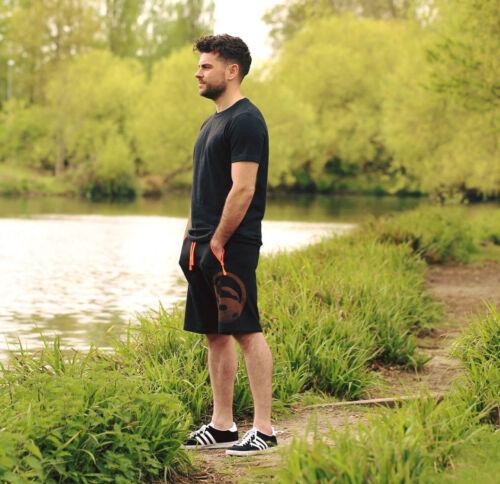 Guru Jersey Shorts Black Coarse /& Carp Fishing Clothing