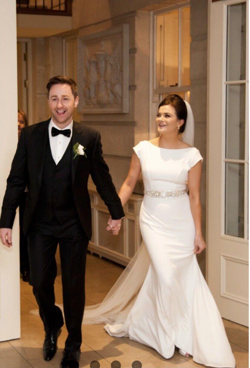 Mikaella By Paloma Blanca Wedding Dress 10