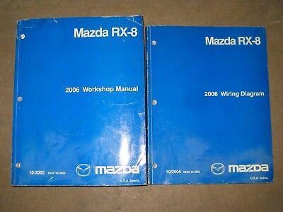 Mazda RX-8 2006 Dealer Workshop and Wiring Diagram Manuals ...