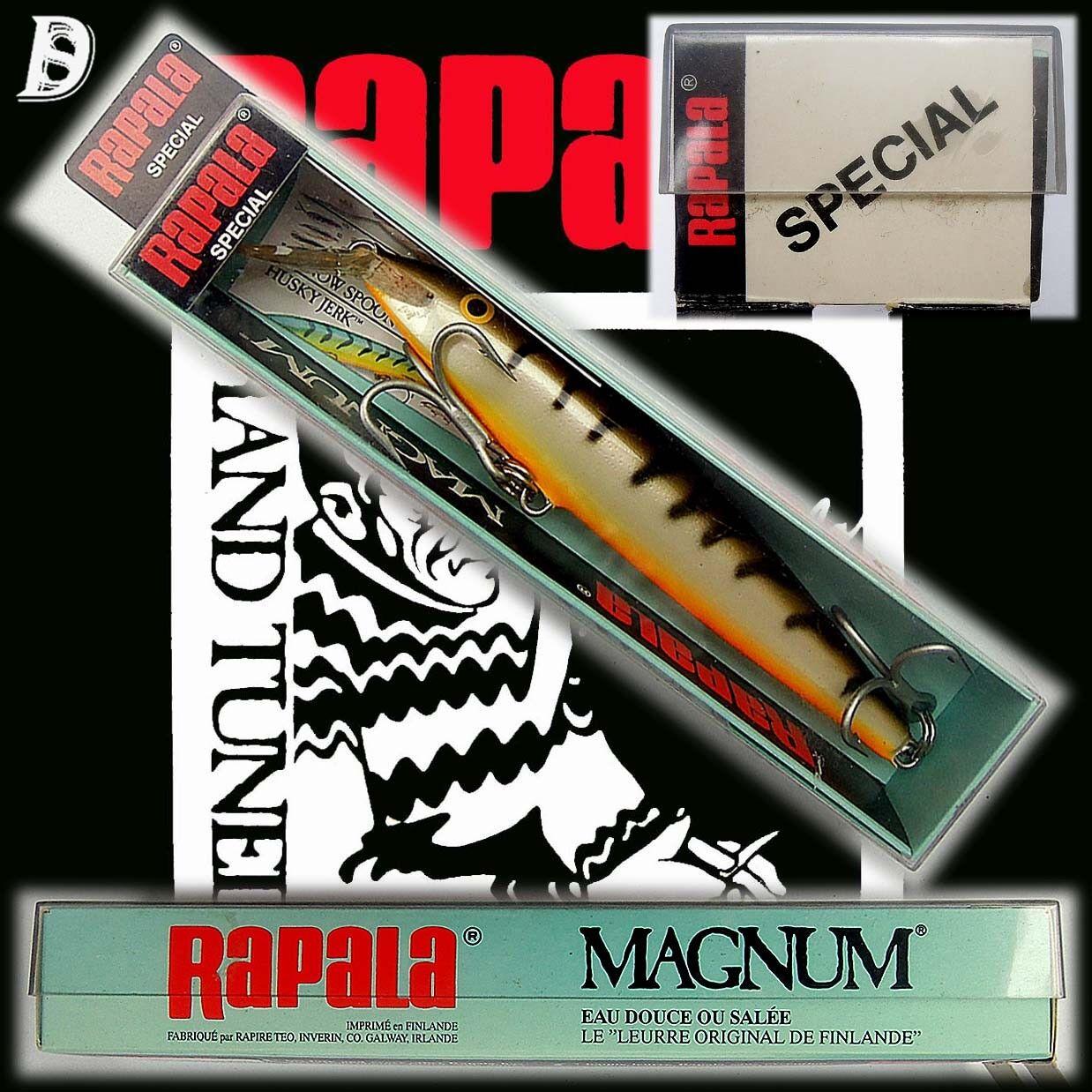 Vintage Rapala Magnum Floating 14cm Special OS Irland NiB, extrem selten