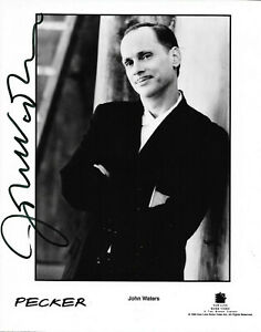 JOHN-WATERS-HAND-SIGNED-AUTOGRAPHED-8X10-PHOTO-WITH-COA