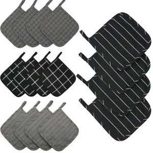 Set-of-4-100-Cotton-Kitchen-Quilted-Pot-Holders-Heat-Resistant-Hot-Pan-Mat-Pads