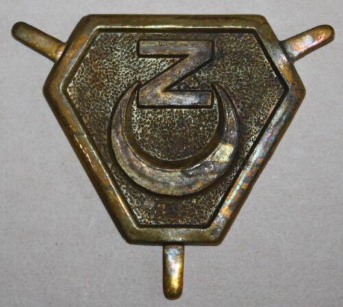 insigne du corps expéditionnaire français en Italie régiment de zouaves