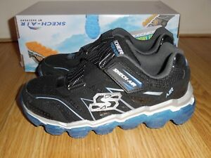f6b7dac0e1 New Skechers Boy  039 s youth size 2 Black Royal Blue sneakers shoes ...
