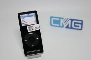 Apple-iPod-nano-1-Generation-4GB-Schwarz-2005-MP3-player-guter-Zustand-Raritaet