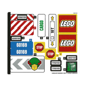 LEGO-CITY-Neuf-NEW-Sticker-for-Set-60169-60169stk01