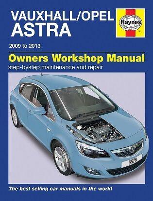Haynes Manual 5578 Vauxhall Astra 1.4i 1.6i 16V Active Club Life Dec 2009-2013