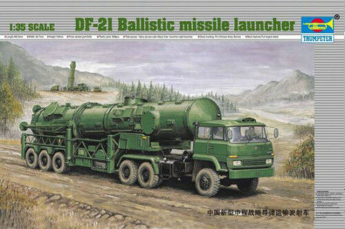 00202 Trumpeter 1 35 Model DF-21 Ballistic Missile Launcher Carriver Vehicle Kit