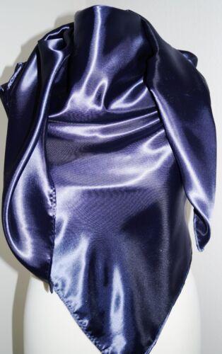 Halstuch Kopftuch 150x150 cm Tuch super großes Satintuch