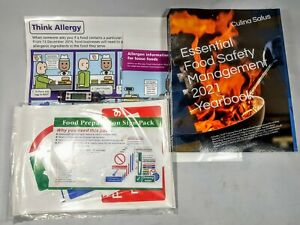 Kitchen Safety Kit.2021 Yearbook Paperback,Thermometer,Allergy Culina Salus