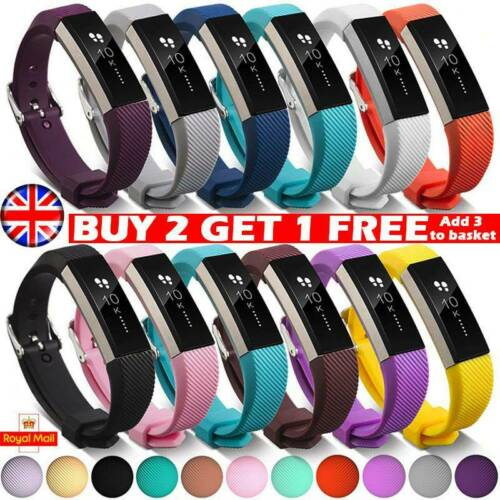 UK Replacement Silicone Wrist Band Straps For Fitbit Alta Fitbit Alta HR ACE *