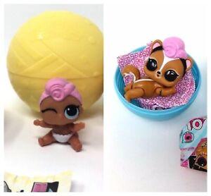 LOL-Surprise-Grunge-GRRRL-Girl-Doll-Lot-Set-Lil-Sister-amp-Pet-Skunk-Skunnnk-NEW